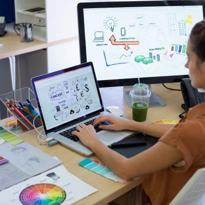 Métiers du numérique développeur d'application et designer web ou web mobile